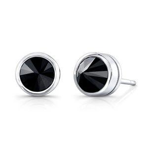 Black Diamond 0.75 Carat Stud Earrings (TW - 1.50)
